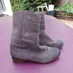 DISTRESSED UGG BOOTIES